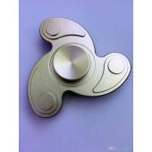 Fidget spinner aluminium in metalen opbergdoosje - vlinder