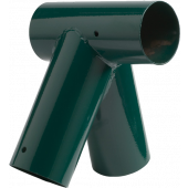 KBT Solide Schommel Hoekverbindingsstuk 'Schuin' rond 120/100 groen