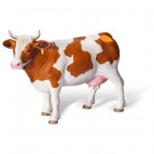 Tiptoi - Speelfiguren - Boerderij - Roodbonte koe