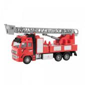 Toi-Toys brandweerwagen metal 12 cm