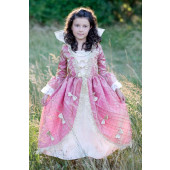 Great Pretenders - Renaissance Gown pink/gold L - (6-8)