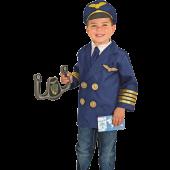 Melissa & Doug - Verkleedpak Piloot 3-6 jaar