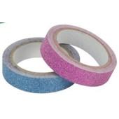 Washi Tape Glitter Blauw-Roze