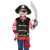 Melissa & Doug - Verkleedpak Piraat