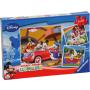 Ravensburger Kinderpuzzel - Iedereen houdt van Mickey (3x49)