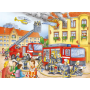 Ravensburger Kinderpuzzel - Brandweer (100XXL)