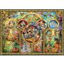 Ravensburger - Disney familie (500)