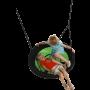 KBT - Nestschommel Swibee Limegroen