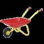 Rolly Toys - Kruiwagen Kunststof Rood