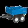 Rolly Toys - rollyMega Trailer blauw