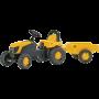 Rolly Toys - rollyKid JCB met aanhanger