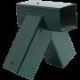 KBT Smart-Line Schommel Hoekverbindingsstuk 'Schuin' vierkant 90/90