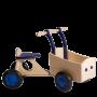 Van Dijk Toys - Houten Bakfiets Blauw