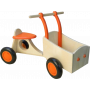 Van Dijk Toys - Houten Bakfiets Oranje