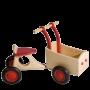Van Dijk Toys - Houten Bakfiets Rood