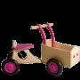 Van Dijk Toys - Houten Bakfiets Roze